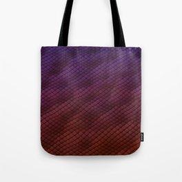Dragon Scales Pattern Tote Bag