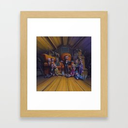 Night of the Living Dummy III Framed Art Print