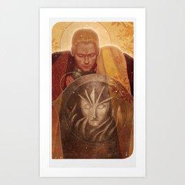 Cullen and Lyra Art Print