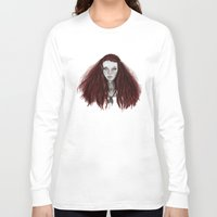 redhead Long Sleeve T-shirts featuring Redhead by AParry