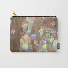 Unicorn Horn Aura Crystals Carry-All Pouch
