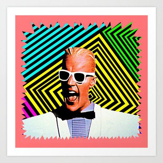 MAX HEADROOM     80's Inspiration Art Print