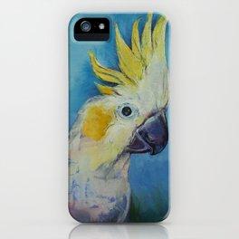 Cockatoo iPhone Case