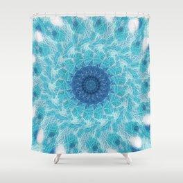 Celestial Joy Mandala Shower Curtain