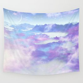 Dreaming landscape Wall Tapestry
