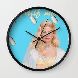 Fergie Mother I'd Like to Follow Wall Clock