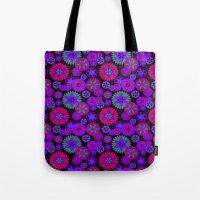 olivia joy Tote Bags featuring Joy Foulard  by Nina May Designs