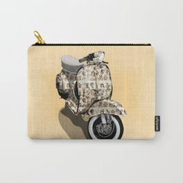 Vespa Tattoo Oldstyle Carry-All Pouch