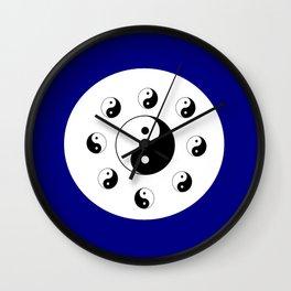 Yin and Yang 14 - Tao,Zen,Taoism,Dao,Harmony,religion,buddhism,buddhist,taijitu,taiji,taoist,china Wall Clock