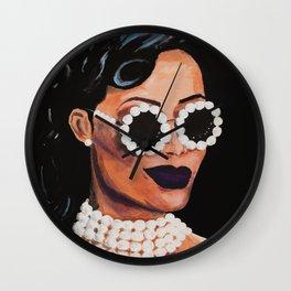 Rihanna, the Fashionista Wall Clock