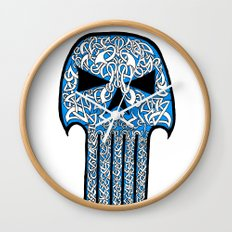 Celtic Punisher Wall Clock
