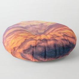 Storm Clouds Floor Pillow