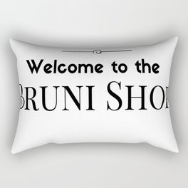 Welcome to the Bruni Shop - 2 Rectangular Pillow