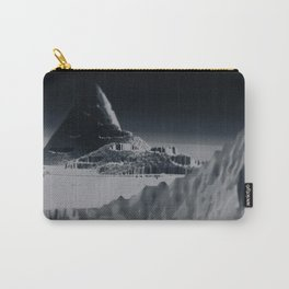Mountain landscape illustration painting Carry-All Pouch