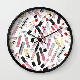 Lipstick Party - Light Wall Clock