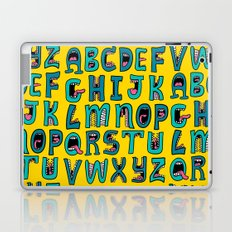 Loud Mouth Alphabet Laptop & iPad Skin