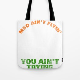 Funny Offroad 4x4 Because Mud design Tote Bag