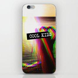 COOL KIDS iPhone Skin
