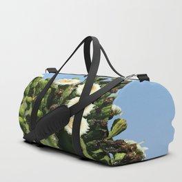 Beautiful Saguaro Blossoms Duffle Bag