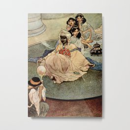 """""""King of the Mountains of the Moon"""" by Charles Robinson Metal Print"""