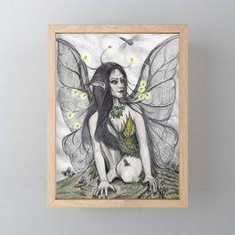 Firefly Faery Framed Mini Art Print