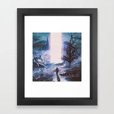 DECONGEST (everyday 02.19.16) Framed Art Print