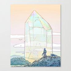 Giant Crystal 2 Canvas Print