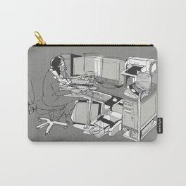 COMPUTER OFFICE WORKER Carry-All Pouch