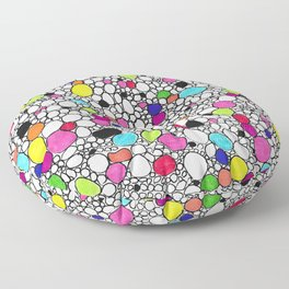 Circles and Other Shapes and colors Floor Pillow