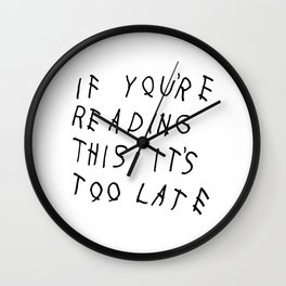 Late Wall Clock