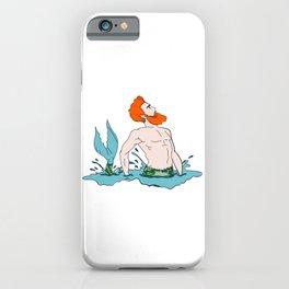 Majestic Mer Man 6 iPhone Case