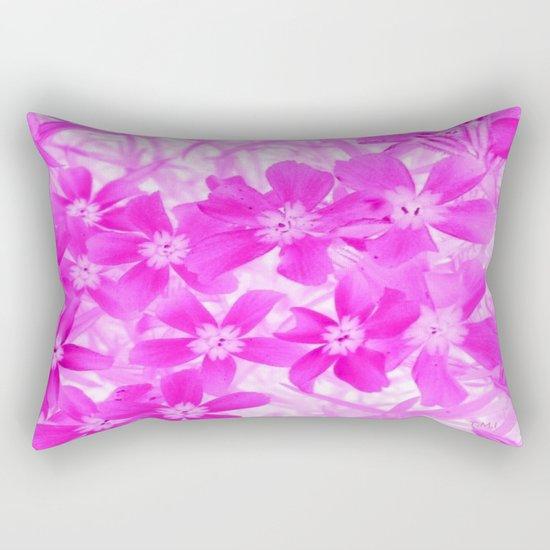 Flower | Flowers | Pink Flox Rectangular Pillow
