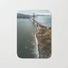 san francisco golden gate bridge Bath Mat
