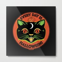Every Day is Halloween Metal Print