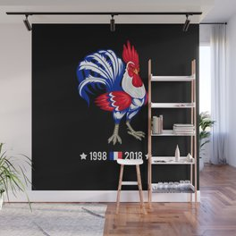 The French Coq | World Cup 2018 Wall Mural