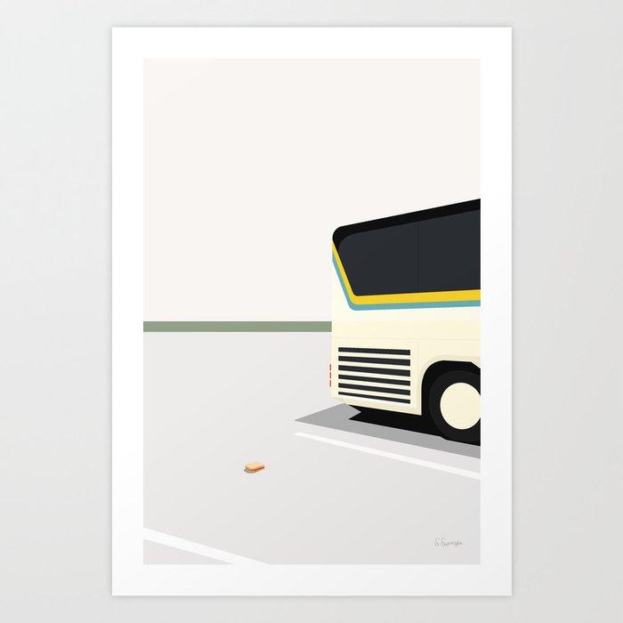MARMELADE BRØD Art Print