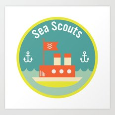 Sea Scouts Art Print