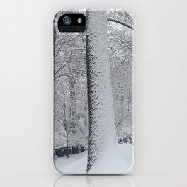 Maplewood - Snow on trees iPhone Case