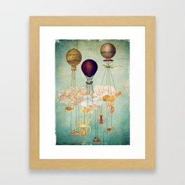 High in the Sky Framed Art Print