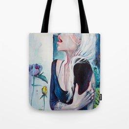 In Her Garden Tote Bag