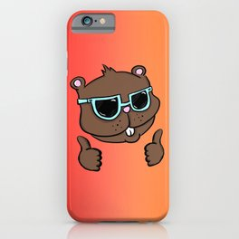 Thumbs Up Gopher iPhone Case