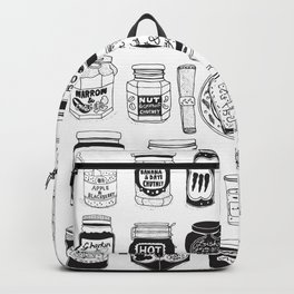 Jams and Chutneys Illustrated Alphabet Backpack