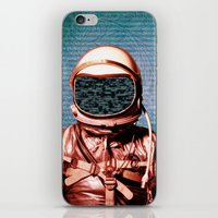 return iPhone & iPod Skins featuring Return by Marc Christoforidis