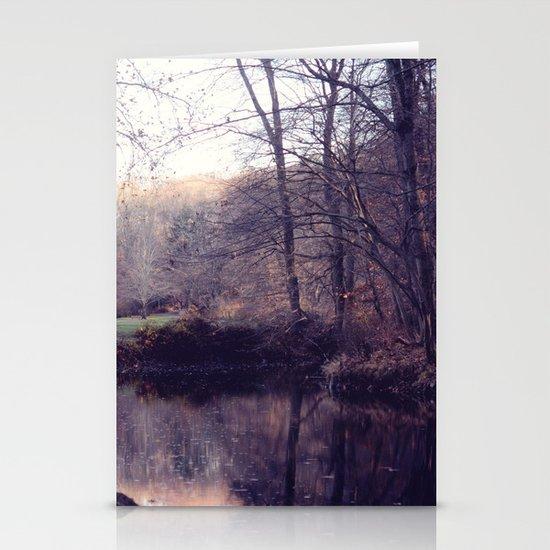 still water Stationery Cards