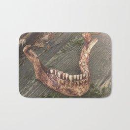 Catacomb Culture - Mandible / Jaw Bone Bath Mat