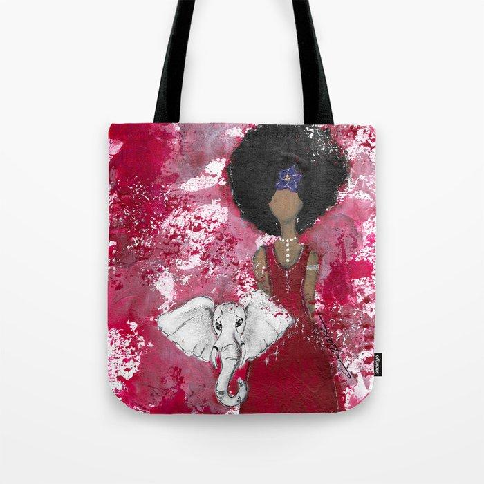 Delta Angel Tote Bag