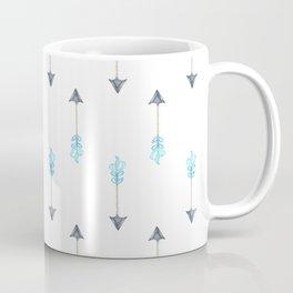 Blue Arrow Coffee Mug