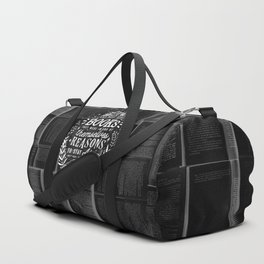 Reasons to stay alive Duffle Bag