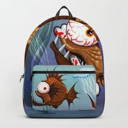 Psycho Fish Piranha with Bone Backpack