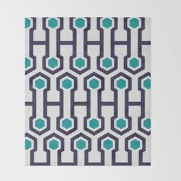 Magna Timberwolf #society6 #decor #buyart #artprint Throw Blanket